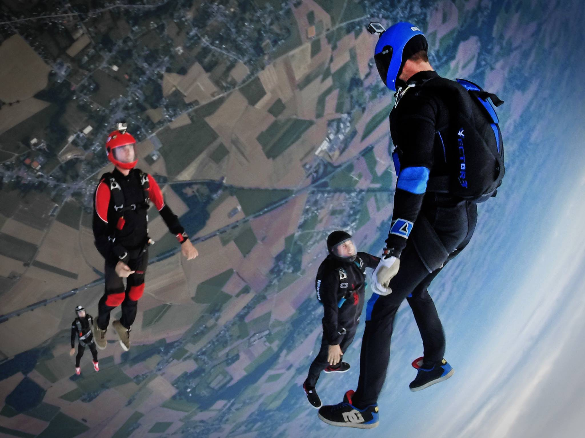 Become Part Of The Clouds When You Learn To Skydive